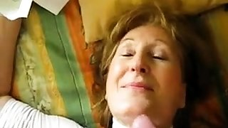 Hairy Italian mature second-rate pov