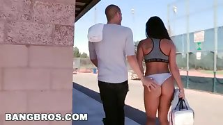 BANGBROS - Witness Xander Corvus Screw Gianna Nicole In A Nurture Park!