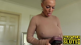 Gaffer MILF succubus analled beside before eating cum