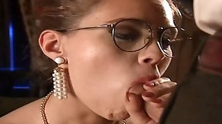 Stunning clad cougars suduces man into voluptuous ass-fuck swelling ( total movie) pornvideo