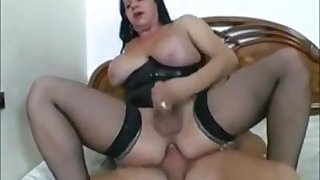 busty TS mother Id like to cash-drawer Looks delicious At 3some